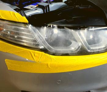 headlight restoration XR6 right before