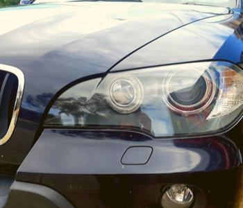 Bumpa_Man Headlight-Restoration BMW-X5 left after