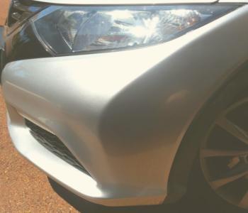After Dent Removal Honda Bumpaman