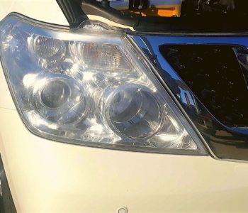 Navara Headlight Restoration Bumpaman